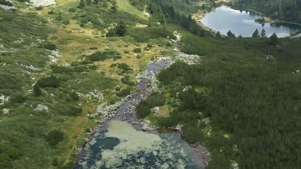Thumbnail for Upper Vasilashko Lake To Down Vasilashko