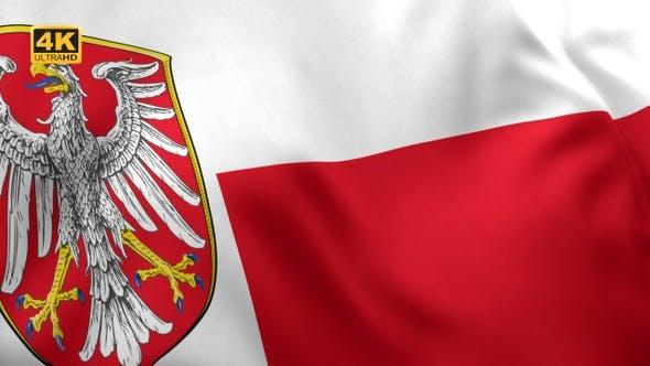 Thumbnail for Frankfurt am Main City Flag - 4K