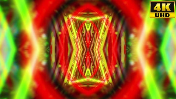 Thumbnail for Abstract Kaleidoscope Vj Loops V17