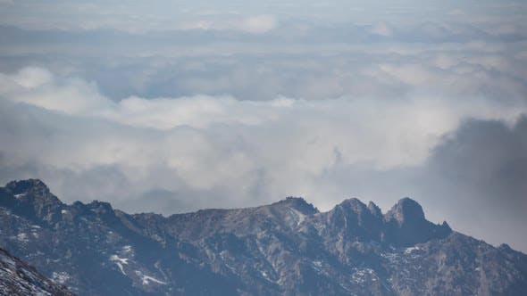 Thumbnail for Sierra nevada spain granada mountains snow peaks ski timelapse