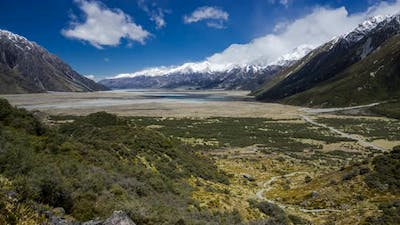 Southern Alps timelapse