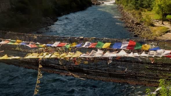 Thumbnail for Suspension bridge near Paro, Bhutan