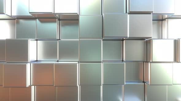 Thumbnail for Matte Metal Square Tiles