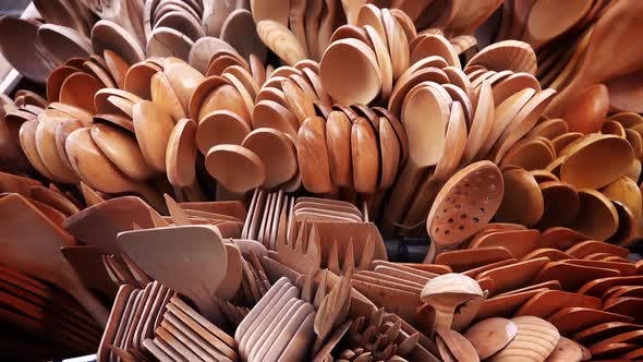 Thumbnail for Handmade Wooden Forks And Spoons 1