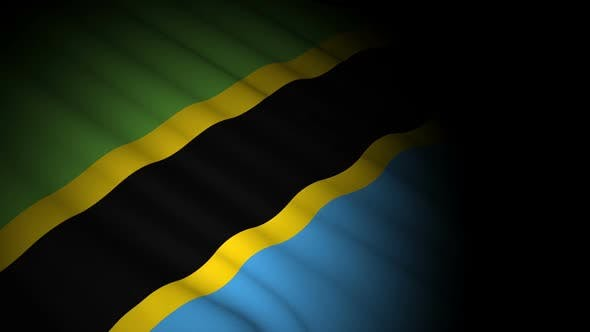 Thumbnail for Tanzania Flag Blowing in Wind