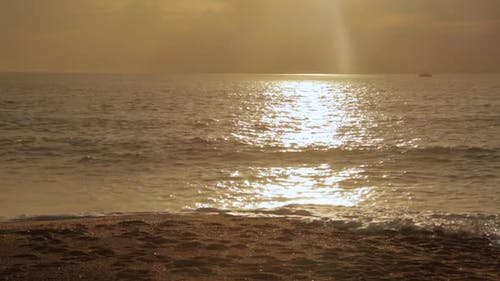 Golden Hour at the Beach