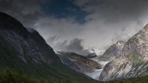 Thumbnail for Norway glacier arctic nature snow ice nigardsbreen