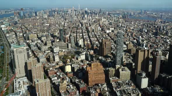New York Day Skyline