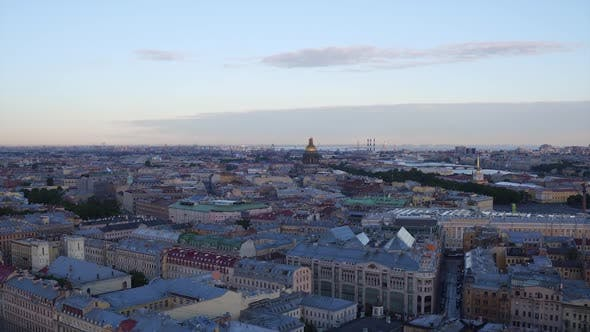 Thumbnail for Saint Petersburg Aerial  Roofs 262