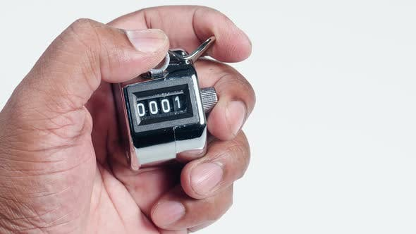 Hand Clicker Counter Ten