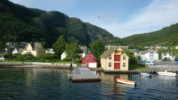 Thumbnail for Sunny Morning Near the Ferry Moorage