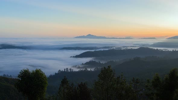 Thumbnail for Fog Sunrise Timelapse