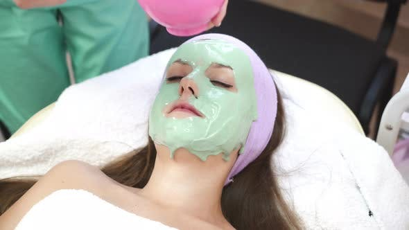 Thumbnail for Woman with Cosmetic Mask