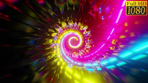Thumbnail for Abstract Spiral Background Vj Loops V1