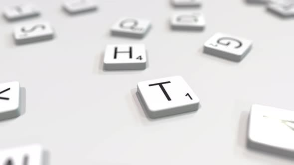 Thumbnail for Making TEXT Word with Letter Tiles
