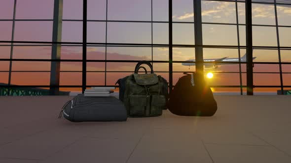 Thumbnail for Bags In Airport Terminal