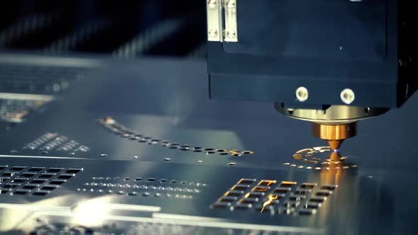 Thumbnail for CNC Laser Cutting of Metal