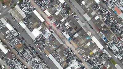 Industrial Factory Aerial