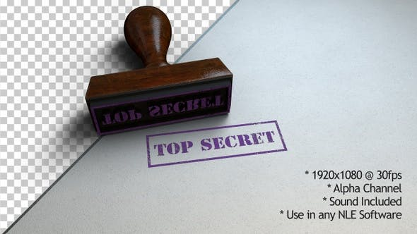 Cover Image for Top Secret Stamp
