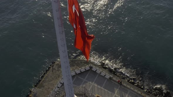 Thumbnail for Istanbul Maidens Tower Aerial View 6