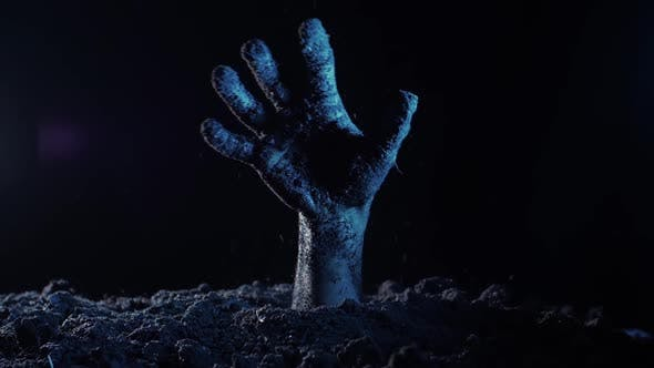 Thumbnail for Zombie Hand Rising Out From the Ground