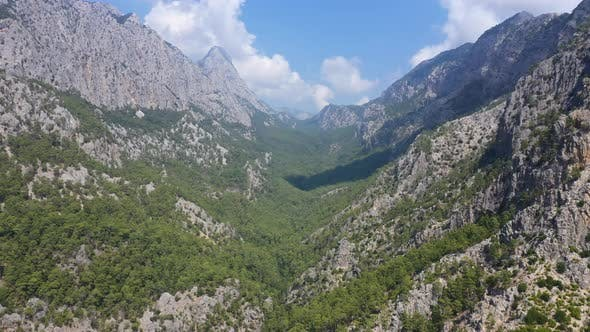 Thumbnail for Aerial View Rocky Green Mountains Of Turkey