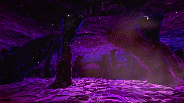 Thumbnail for Flying In Sci Fi Tunnel Cavern 02 4K