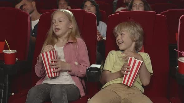 Thumbnail for Kids Having Fun in Cinema