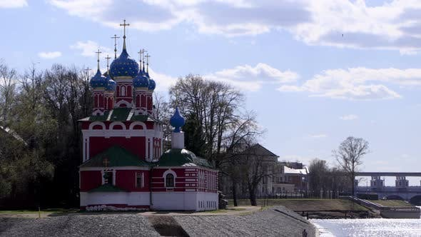 Cover Image for Church of the Dmitry in Uglich, Russia Time Lapse