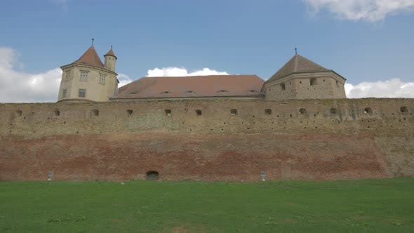 Thumbnail for The defensive wall of the FagaraS Fortress