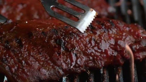 Barbeque ribs, shot on Phantom Flex 4K