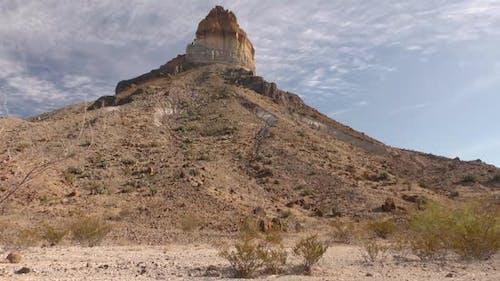 Desert Peak Pinnacle in Big Bend National Park Texas