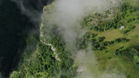 Thumbnail for Aerial Flight Through the Clouds and Fog