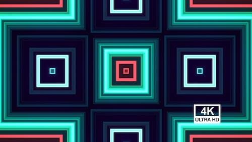 Geometrisches nahtloses Muster 4K