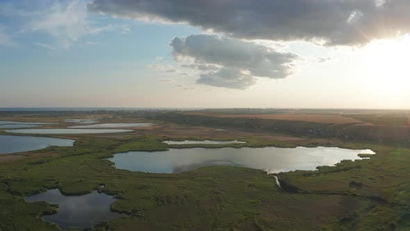 Thumbnail for Drone Flight Over Wetland of National Nature Park