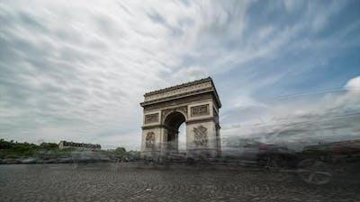 Arch of Triumph (Slow shutter timelapse)