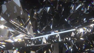 Beautiful Slowly Rotating Diamond