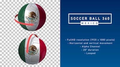 Soccer Ball 360º - Mexico
