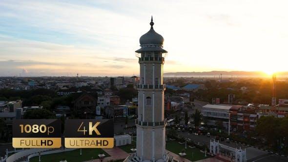 AH - Minaret of Baiturrahman Grand Mosque 09