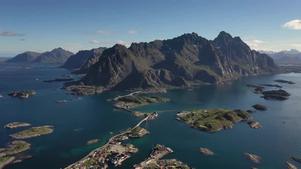 Thumbnail for Henningsvaer Lofoten Is an Archipelago in the County of Nordland, Norway