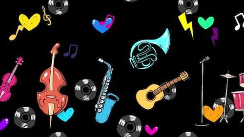 Cartoon Music Instrument 2 In 1