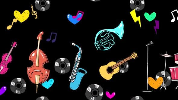 Thumbnail for Cartoon Music Instrument 2 In 1