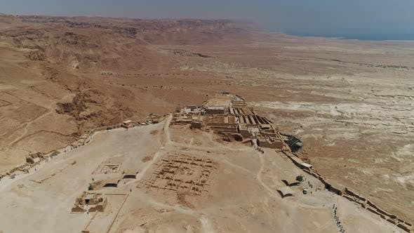 Thumbnail for Aerial shot of Masada