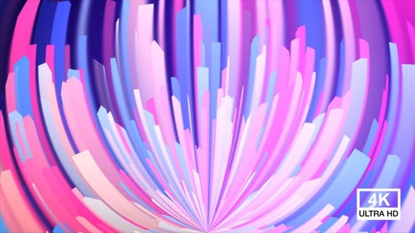 Thumbnail for Abstract Colorful Floral Motion 4K