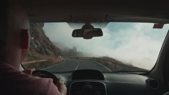 Thumbnail for Car Journey To Mount Teide Volcano on Tenerife