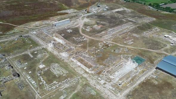 Die antike Stadt Laodicea auf dem Lykus.