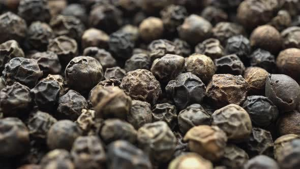 Thumbnail for Dry Black Pepper Close Up Rotation 4