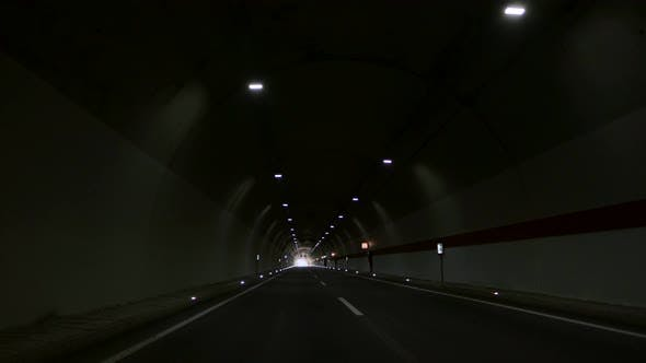 Cover Image for Driving Through Tunnel