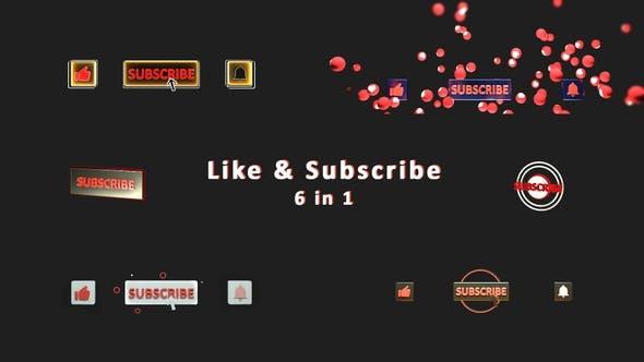 Thumbnail for Wie abonnieren und benachrichtigt Buttons erhalten