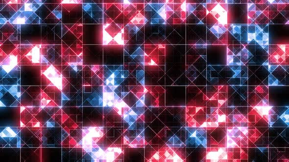Thumbnail for Abstract Technology Blue Red BG Loop
